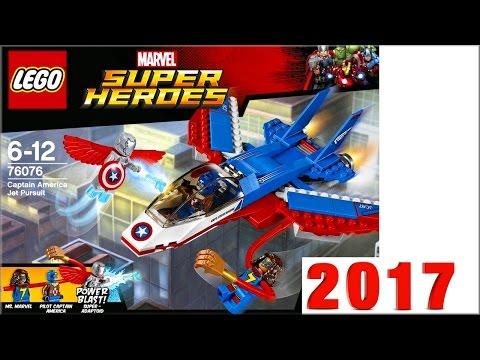 LEGO Super Heroes 2017 года наборы новинки