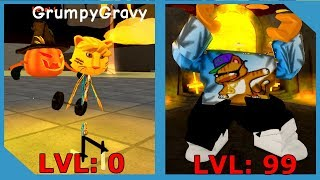 NEW HALLOWEEN UPDATE IN ROBLOX WEIGHT LIFTING SIMULATOR *Strongest Player*