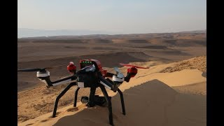 RC Drone with camera crashes   Traxxas Aton Plus Gopro hero 4