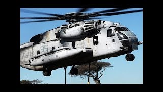 MOST POWERFUL Helicopter of the US Military lifting Military vehicles