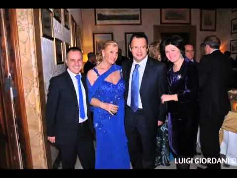 Roma 2012, Nadia Bengala e Antonello De Pierro alla festa di Sara Iannone