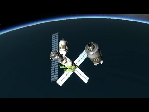 How to Dock in KSP (Kerbal Space Program)