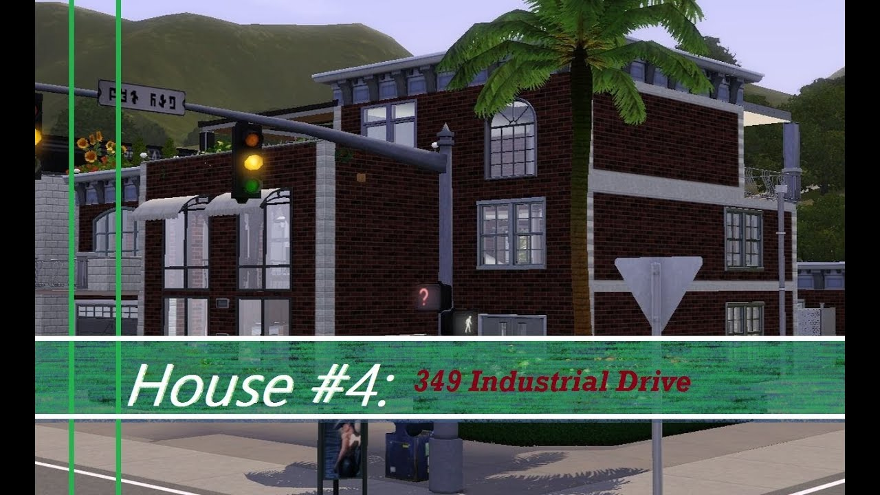 The Sims 3 349 Industrial Loft Youtube