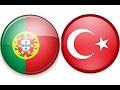 Dünya kupasına başlangıç  Türkiye - Portekiz maçı pes 17