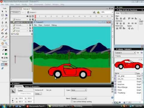 Learn flash animation tutorials for beginners