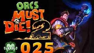 Let's Play Together: ORCS MUST DIE 2 #025 - Ein Fehltritt nach hinten [deutsch] [720p]