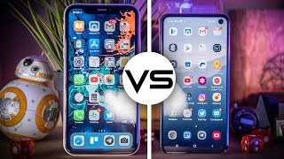 Samsung Galaxy S10e против iPhone Xr — Битва «доступных» флагманов!