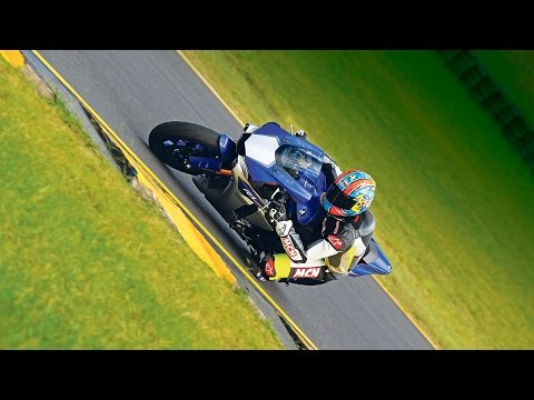 2015 Yamaha R1 world first test   First Ride   Motorcyclenews.com