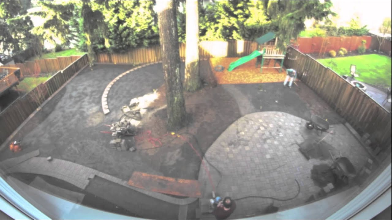 backyard putting green installation youtube