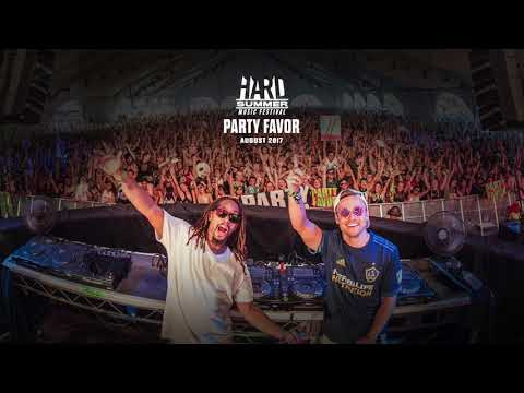 PARTY FAVOR  HARD SUMMER 17 FULL SET
