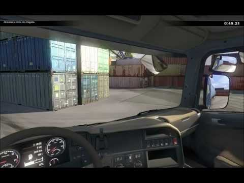 Scania Truck Driving Simulator , manobrando
