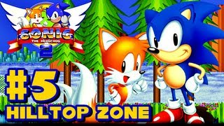 Sonic the Hedgehog 2 Genesis - (1080p) Part 5 - Hilltop Zone