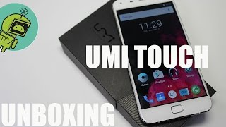 UMI TOUCH UNBOXING / GAMA MEDIA