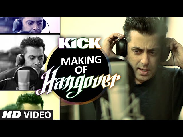 Making of Hangover Song | Salman Khan | Kick | Meet Bros Anjjan