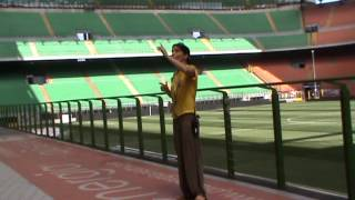 Trip To San Siro (Stadio Giuseppe Meazza), football stadium @Milan, Italy - The Grass