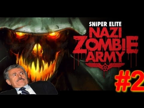 KSIOlajidebt Plays | Sniper Elite: Nazi Zombie Army #2