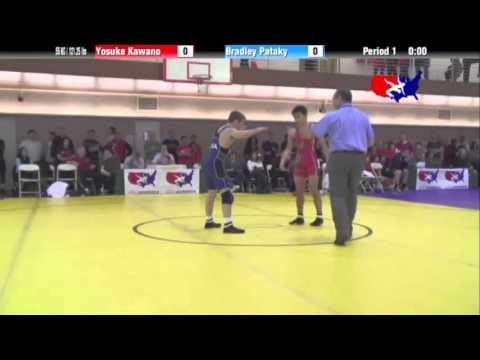 FS 55 KG - R16 - Yosuke Kawano (JPN) vs. Bradley Pataky (NLWC)