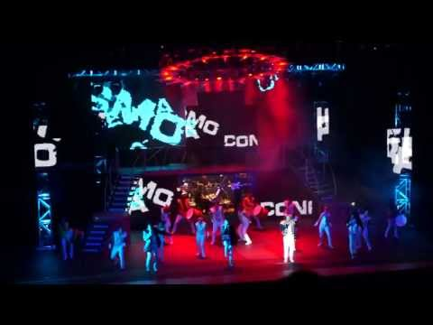 Thriller Live Brasil Tour - Credicard Hall SP - They Don't Care About Us - 18/05/2013
