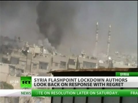 Syria stuck between rock & hard place?