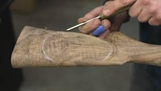 HOW TO MAKE A CUSTOM GUNSTOCK - .375 H&H