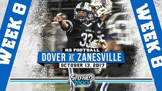 HS Football | Dover at Zanesville [10/13/17]