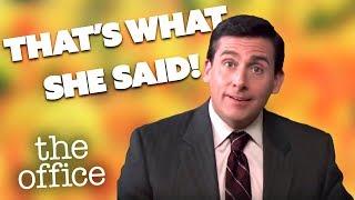 Michael Scott Presents That's What She Said | Comedy Bites