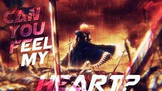 AMV Fate Zero/Stay Night - Can You Feel My Heart?