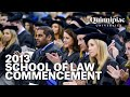 Quinnipiac University 2013 School of Law Commencement