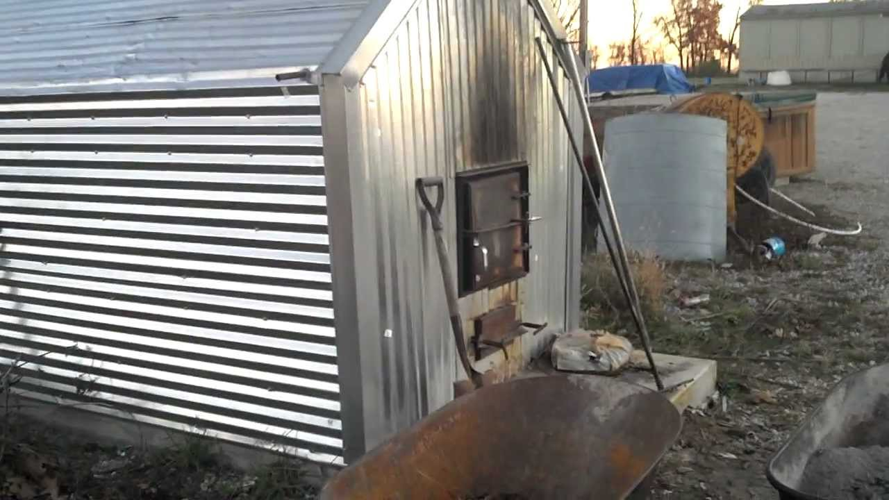 2010 Wood Heater Pex Piping Water Youtube