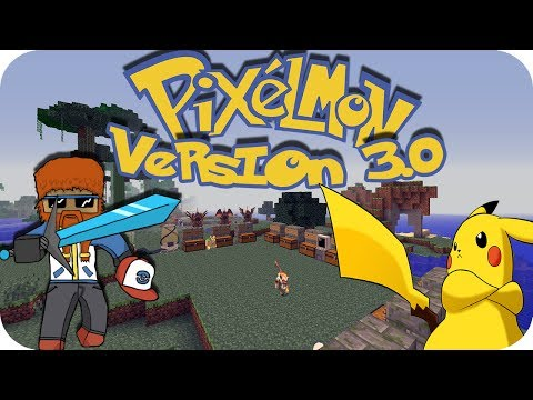 PIXELMON 3.0 REVIEW | Nueva version