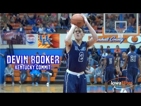 Devin Booker Drops 40 in Front of UK Coach John Calipari