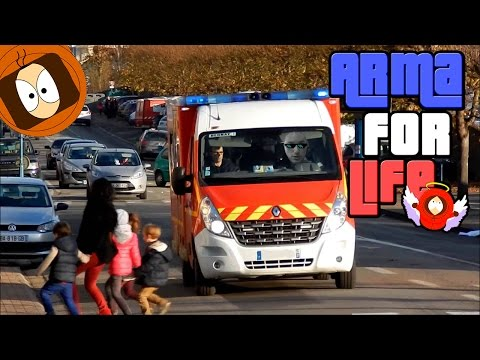 POMPIER LIFE : HOMME ARMÉ & ACCIDENT DE LA ROUTE ! | ARMA FOR LIFE