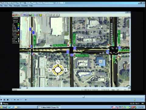 view MAX BRT and Vehicle Traffic Simulation video