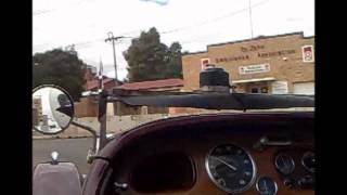 Lagonda Rapier Northam Flying Fifty 2012 part 1