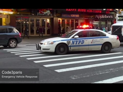 NYPD Police Cars Responding (collection)