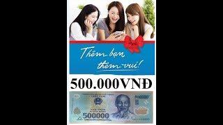 """Ví Việt - Hack nhập 1 mã mới """"77997799"""" nhận ngay 500k.MÃ CŨ Ở VIDEO 070809 KHÔNG DÙNG ĐƯỢC NỮA NHÉ."""