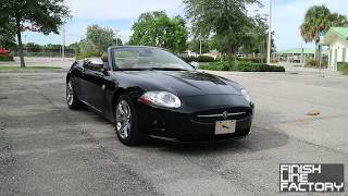Driving a 2007 Jaguar XK