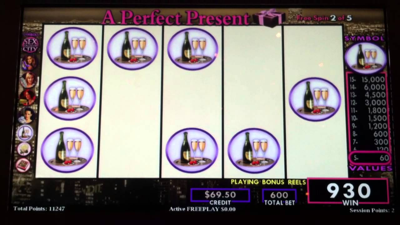 Sex and the city slots online