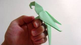 Origami Macaw Parrot - Arara De Origami