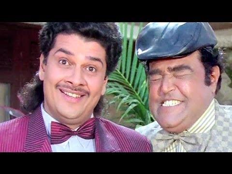 Best Comedy Scenes of Robert and Bhalla - Andaz Apna Apna Jukebox...