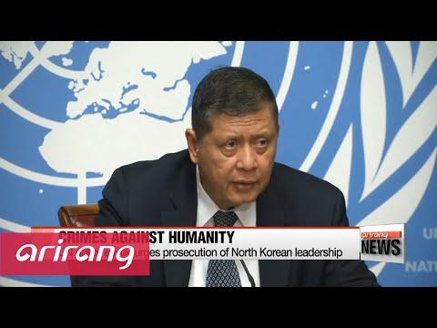 UN rights envoy urge prosecution of North Korean leader