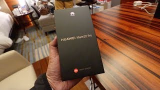 UNBOXING HUAWEI'S BEST: THE MATE 20 PRO AND MATE 20 (IT'S A TECH VLOG OMG)