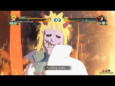 Naruto Shippuden Ultimate Ninja Storm Revolution - Oni Minato Vs Oni Orochimaru (accessory Battle) video