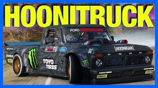 Forza Horizon 4 : THE HOONITRUCK!! (Test Drive, Drifting & Customization)