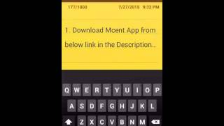 Mcent  March 2016 Unlimited Recharge Hack with proof