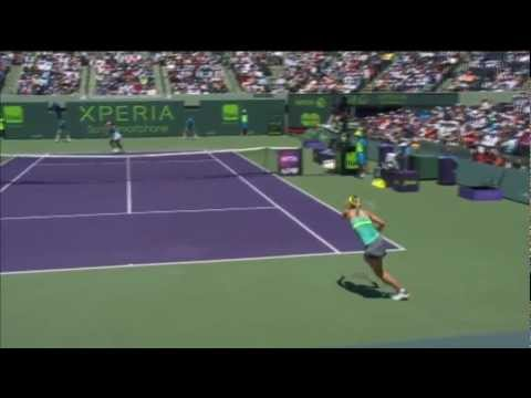 Maria Sharapova 2013 Sony Open Tennis Final Hot Shot