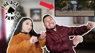 Reacting To Giddy Up - The Ace Family!