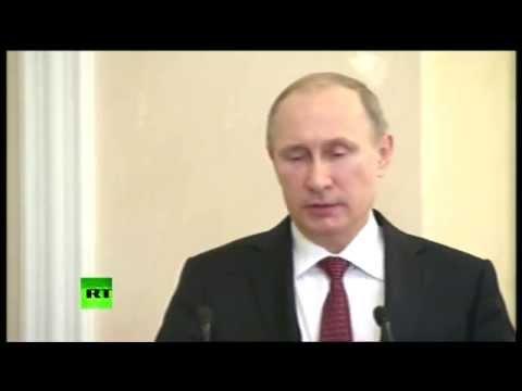 Le discours de Vladimir Poutine au terme du sommet à Minsk