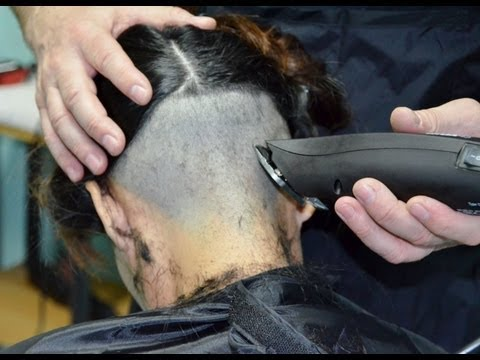 Barber girl got a undershaved bobcut Music Videos