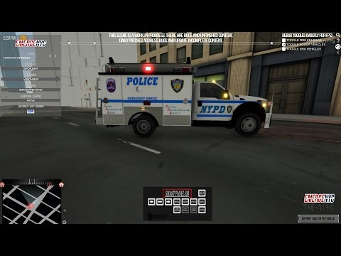 EmergeNYC NYPD Pre-Alpha Gameplay (2017 Police Game)